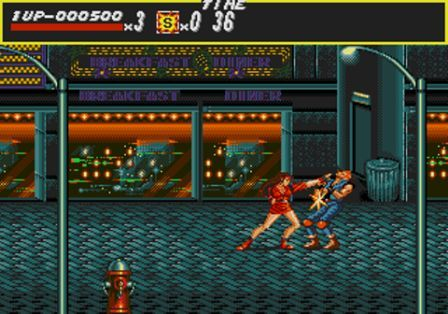 Streets of Rage sur Mega Drive, miam...